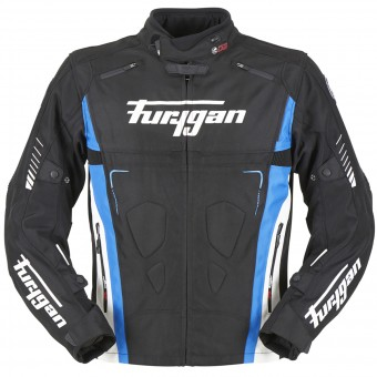 Motorradjacke Furygan Vortex Black Blue White
