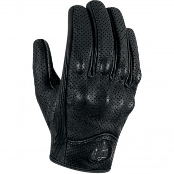 Motorradhandschuhe ICON Pursuit Touchscreen Perforated Black