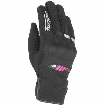 Motorradhandschuhe Furygan Jet Lady All Season Black Pink