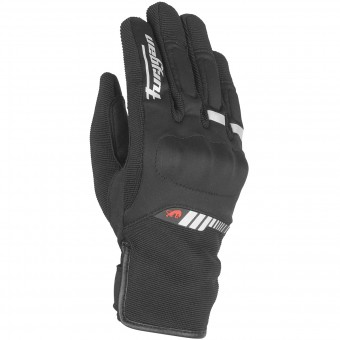 Motorradhandschuhe Furygan Jet Lady All Season Black White