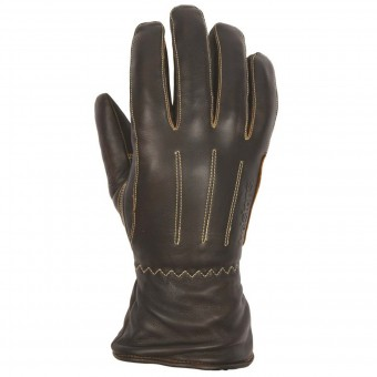 Motorradhandschuhe Helstons Wynona Woman Leather Brown