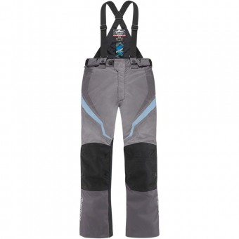 Motorradhose ICON DKR Pant Woman Charcoal