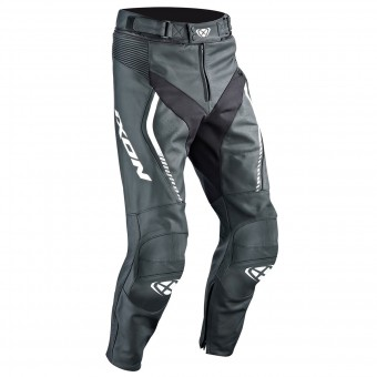 Motorradhose Ixon Fighter Pant Black White