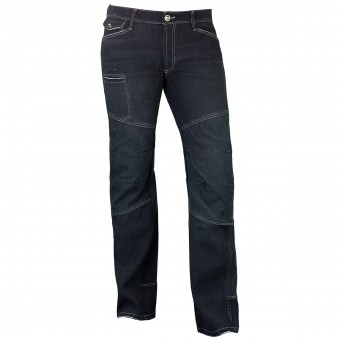 Motorradjeans Esquad Steam Deep Black