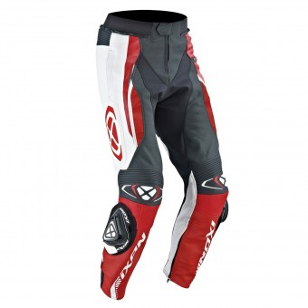 Motorradhose Ixon Vortex Pant Black White Red