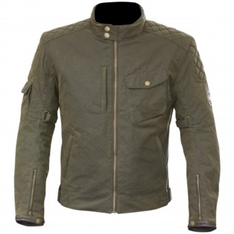 Motorradjacke Merlin Hamstall Wax Cotton Brown