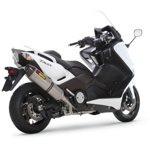 Komplette Auspuffanlage Akrapovic Racing Inox Titane Yamaha T Max 500 530 2008 2016 Versandbereit Icasque De