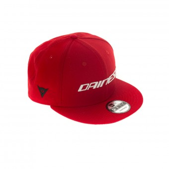 Motorrad Kappen Dainese Dainese LP 9 Fifty Diamond Era Snapback Red