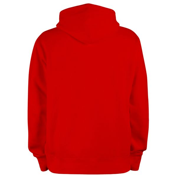 100% Bitume Hoodie Signature Big Red