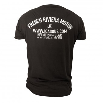 Motorrad T-Shirts  iCasque French Riviera Motor Black