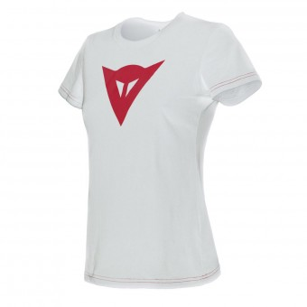 Motorrad T-Shirts  Dainese Speed Demon Lady White Red