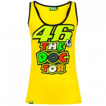 Motorrad T-Shirts  VR 46 Tank Top Woman VR46